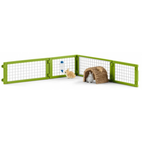 schleich-42420-rabbit-hutch-