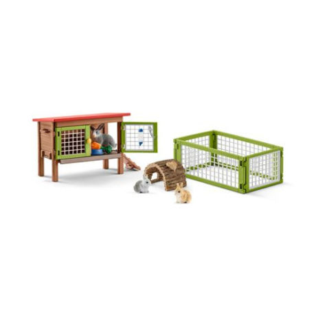 schleich-42420-rabbit-hutch