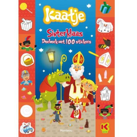 NEW KAATJE sint 100 stickers cover.indd