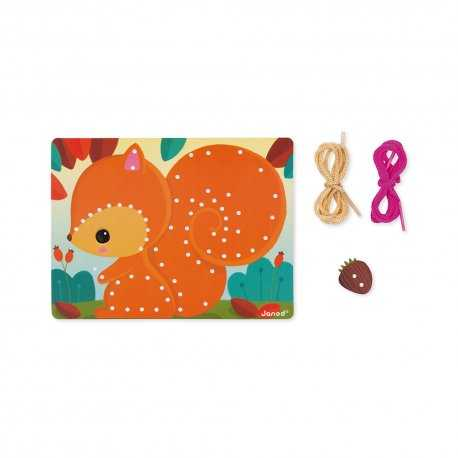 cartes-a-lacer-animaux